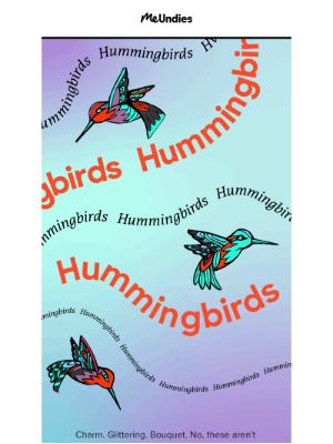 MeUndies - A Little Bird Told Us You'd Love This 💐