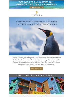 Seabourn Cruise Line - Explore South America and Antarctica