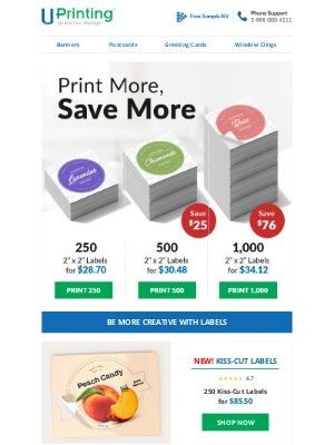 UPrinting - Save More When You Print More