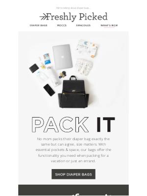 Freshly Picked - Pack Those Bags!!