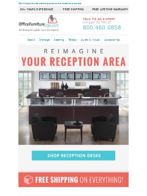 Office Furniture - Reimagine Your Reception Area