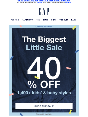 Gap (CA) - Can't miss deals on everything they 😍 FROM $10