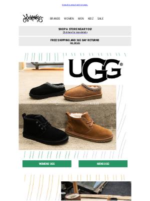 Journeys - The perfect styles - UGG Neumel & Tasman