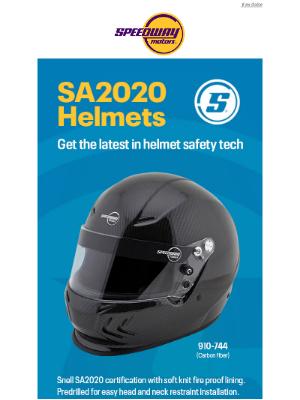 Speedway Motors - SA2020 Helmets