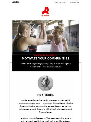 Who keeps you motivated?
