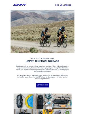Giant Bicycles - Get Packed for Adventure! 💥