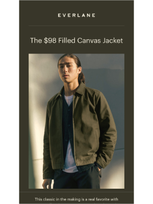 Everlane - The Workwear Jacket—But Make It Modern