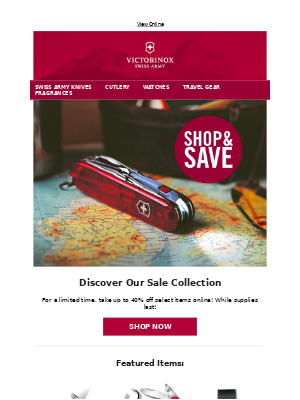 Victorinox - Shop and Save | Select Styles Up to 40% Off