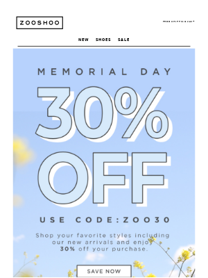 30% OFF EVERYTHING! 😱