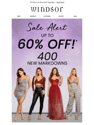 Windsor Fashions - SALE ALERT 📣 Up to 60% OFF