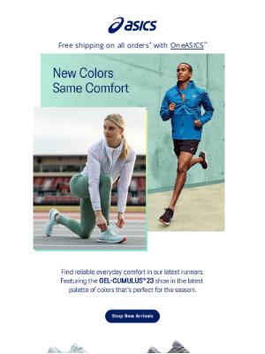 ASICS - NEW Legendary Colors