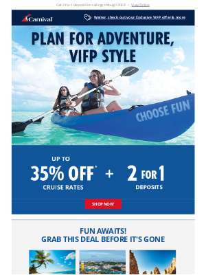 Carnival Cruise Line - 🚩 Offer enclosed: An extra perk for you