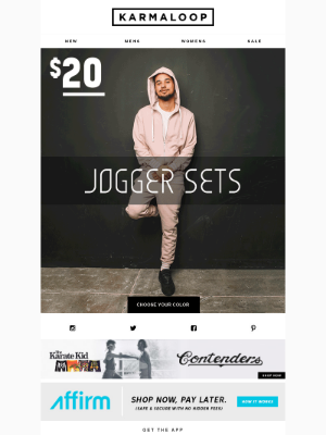 🔥 Deal! Hoodie & Jogger Set for Only $20!