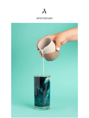 Apothekary - The recipe that blue us away.