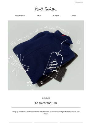 Paul Smith - Gift Ideas for Him & Her