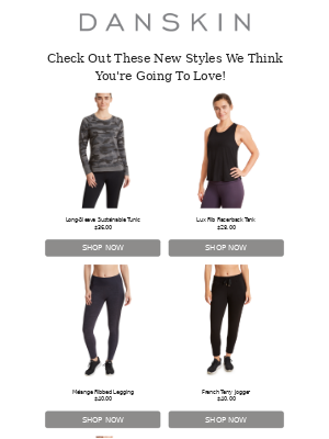 Danskin - New Arrivals You're Going To Love!