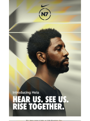 Nike - A message from Kyrie Irving, Hela