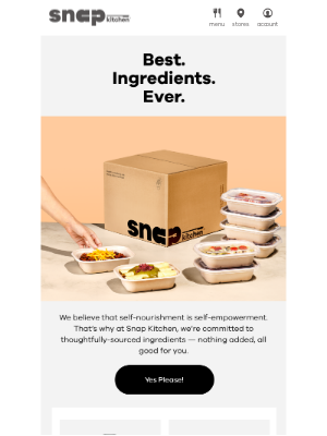 Snap Kitchen - Best. Ingredients. Ever.