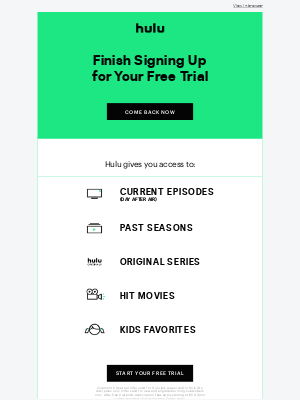 Your FREE Trial of Hulu Is Waiting