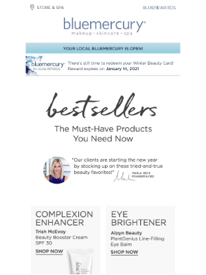 Bluemercury - Check out our January Best Sellers!