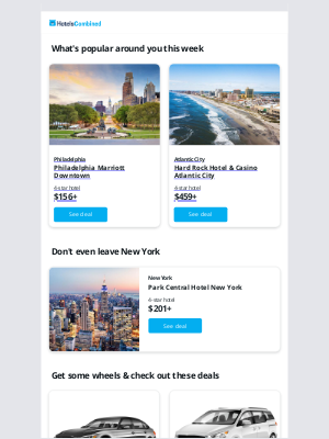 HotelsCombined - Where's your next getaway?