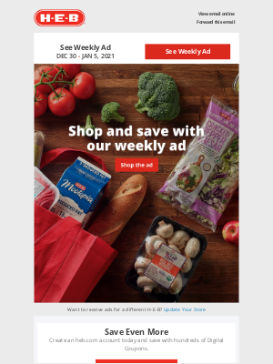 H-E-B - Time is running out on this week's savings