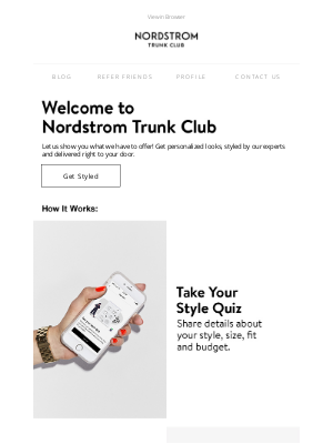 Trunk Club - Welcome to Trunk Club