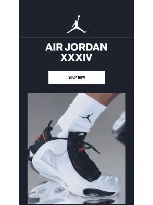 Introducing the Air Jordan 34 'Bred'