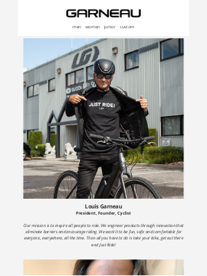 Garneau - Just ride!