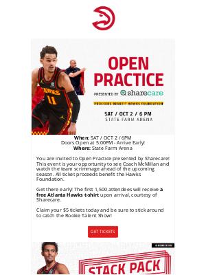Atlanta Hawks - Ever wonder what an NBA practice is like?