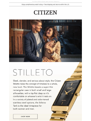 Citizen Watch Company - For Him, For Her