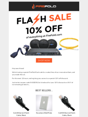 FireFold - Special - Flash sale today only!