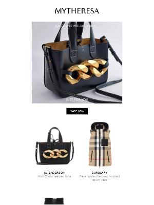 My Theresa (UK) - Exclusive pre-shopping: JW Anderson, The Attico, Bottega Veneta