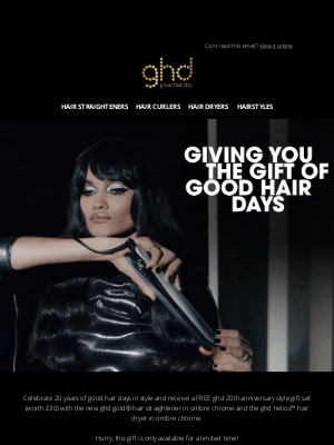 ghd (UK) - EXCLUSIVE: Free Gift Inside...🎁