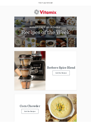 Vitamix - Recipes of the Week: Soup + Spice
