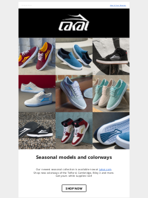Lakai Footwear - Shop our new seasonal collection!