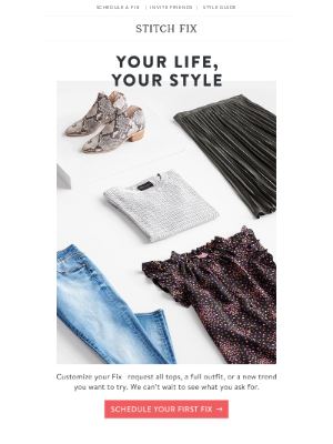 Your Wardrobe Requests, Granted