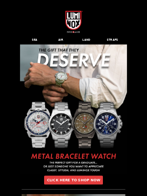 THE WATCH YOU'VE BEEN LOOKING FOR