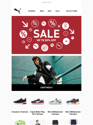 PUMA (UK) - Don't Miss Out On Up To 50% Off*