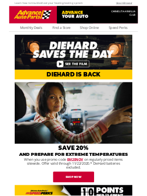 Advance Auto Parts - 🌡️ Keep Your Engine's Temperature Regulated