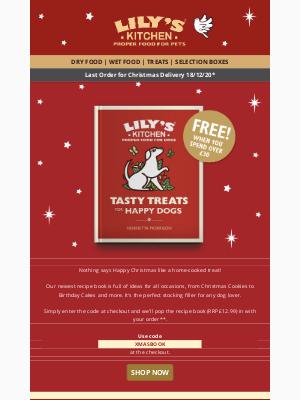 Lily's Kitchen (UK) - Christmas Treats = Happy Dogs🐶