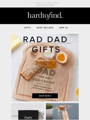 HardToFind AU - Rad dad gifts this way🎁
