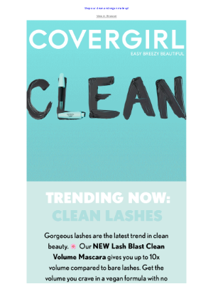 COVERGIRL - Clean Up Your Lash Game 🌸