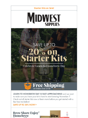 Midwest Supplies - Sale Ends Soon: Get Your Starter Kit Now