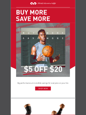 Mcdavid Sports Medical - Save MORE! 🤑 Up to $35 OFF Your Entire Order