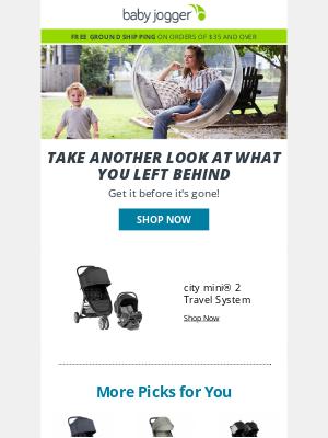 Baby Jogger - Your cart awaits…