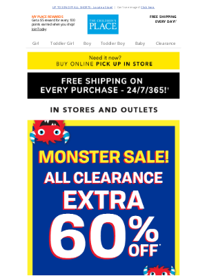 Crazy 8 - 🛍️IN STORES ONLY! Extra 60% off ALL Clearance!