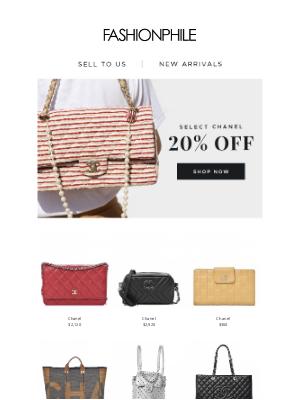 FASHIONPHILE - Select Chanel 20% Off