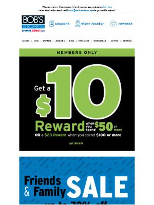 Eastern Mountain Sports - Get a $10 Reward 💵