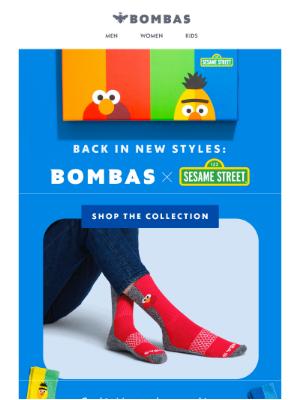 Bombas - Sesame Street Socks Are Back